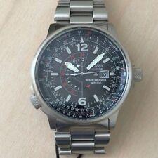 Citizen Nighthawk Eco-Drive Pilot Watch Men's Watch BJ7000-52E