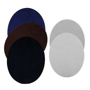11x14cm Elbow Knee Oval Shaped Iron-on Patches for Clothes Trousers Bags 10pcs