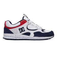 "DC Shoes ""Kalis Lite SE"" Shoe (White/Red/Blue) Men's Retro Skating Sneakers"