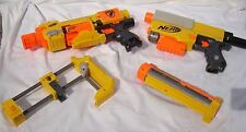 Nerf N-Strike Recon CS-6 Sniper Rifle / Automatic Barricade RV-10 Lot 2 Guns