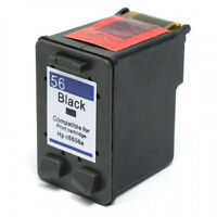 Black HP 56 Ink Cartridge C6656AN for PhotoSmart 7550 7660 7755 7760 7960