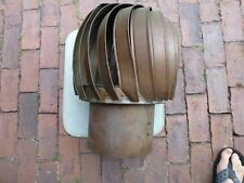 Antique Copper Barn Vent Wind Turbine Ventilator