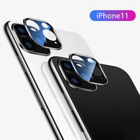 For iPhone 11 Pro Max 3D Back Camera Lens Tempered Glass Protector Cover Film AU