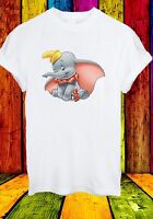 Disney Dumbo The Elephant Baby Timothy Q. Mouse Men Women Unisex T-shirt 680