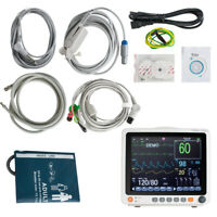 "12.1"" Portable Patient Monitor For ICU /Ambulance, ECG,RESP, NIBP, SpO2,TEMP, PR"