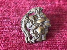 WW1 28th Artist Rifles County of London Solid Brass Collar Badge Rare 49/20