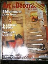 Art et Décoration N° 378 2000 Poignées de porte Paravents Rénover un siège déco