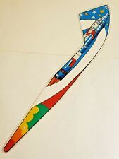 RARE ORIGINAL 1976 PLAYMATIC NEW WORLD PINBALL MACHINE PLAYFIELD PLASTIC NW-2