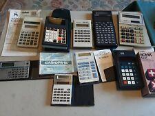 9 Vintage  Calculators?