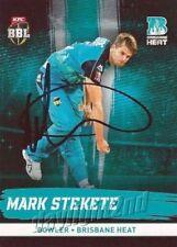 Brisbane Heat 2017 Season Cricket Trading Cards
