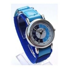 Boys Watch Time Teacher Velcro Kids Childrens Learning Tutor Tell Strap Quartz