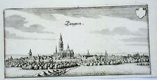 Tongeren Lüttich  Belgium  Merian Kupferstich 1647