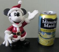 RARE Disney Enesco Mickey Mouse Santa Claus Pie Eyes Ceramic Porcelain Figure
