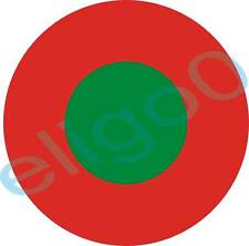 1x STICKER Portuguese roundel AIR FORCE decal AVIATION