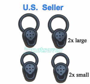 2L + 2S Motorola H17 H17txt H525 HX550 H17-txt replacement earbuds eargels