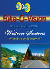 "Bike-O-Vision Cycling Video, ""Western Seasons""  Widescreen DVD"