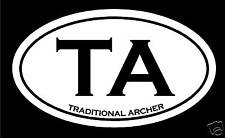 Traditional Archer Hunting Decal Sticker buck deer