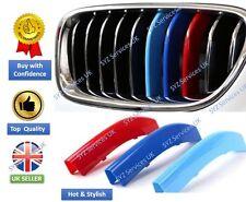 BMW SERIE 5 (2014-2015) M-Sport Griglia Grill Pannello // M finiture colorate Clip