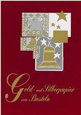 Papel para manualidades Papel Papel de plata Papel oro Oro Plata A4 bricolaje