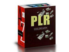 100 deutsche E-books inkl PLR  + 150 Reporte inkl Master Reseller Lizenz