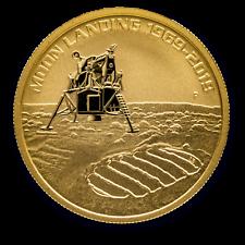 2019 Australia 1 oz Gold Anniversary of the Moon Landing BU -  SKU #207615