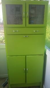 Original1950's KITCHEN CABINET. Good condition for age