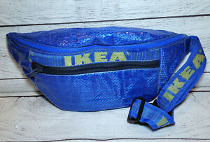 Handmade Ikea Fanny Pack Upcycled Bum Bag with Adjustable Strap Novelty Costume