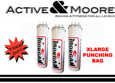 MORGAN 4FT ENDURANCE PRO XLARGE PUNCHING BAG FILLED BOXING PUNCH KICK MMA BAG
