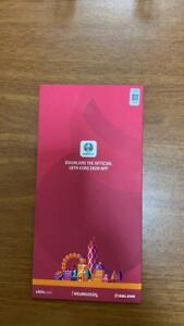 WALES SWITZERLAND EURO 2020 HOSPITALITY ticket Baku unhinged 2021 LIMITED