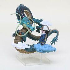 San Goku et Shenron Figurine Dragon Ball Z Museum Collection - 14cm
