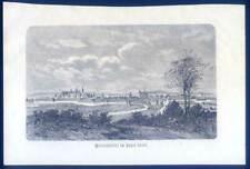 Wolfenbüttel, original Holzstich aus Görges 1881