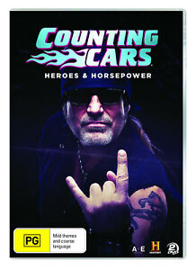 BRAND NEW Counting Cars - Heroes & Horsepower (DVD, 2-Disc Set) *PREORDER R4