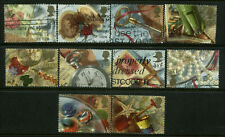 Great Britain  Scott #1426 - #1435 Complete Set of 10 Used