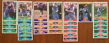 1989 Score MONTREAL EXPOS Team Set + Rookie/Traded - Randy Johnson RC Raines