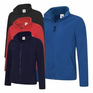 UNEEK Ladies Classic Full Zip Micro Fleece Jacket Anti Pill Casual Work wear TOP