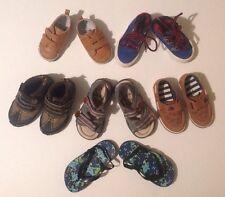 Baby Jungen Next X6 Footwear Schuhe Sandles Flip Flops Größe 3 4 5 6 & 7 Bundle