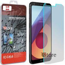 """Pellicola in Vetro Temperato Per LG Q6 LGM700A Protezione Display LCD 5.5"""""""