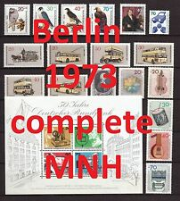Berlin Complete Year 1973/1974 MNH Stamps, Mi. 442-481, Germany, 2 pictures
