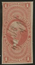 R 67a--$1 ENTRY OF GOODS REVENUE STAMP -65