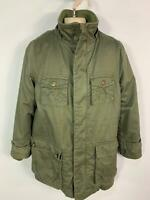 BOYS TED BAKER KHAKI GREEN CASUAL PADDED WINTER RAIN COAT JACKET KIDS AGE 10 YRS