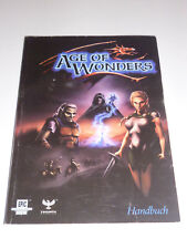 Age of Wonders alemán instrucciones descripción manual PC