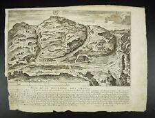 Mont des Oliviers Jean Doubdan Voyage Terre Sainte c1660 Nicolas Cochin XVIIe