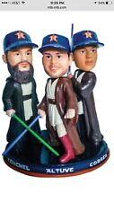 Star Wars Jedi Council Triple Bobblehead Altuve Correa Keuchel 6/17 SGA Astros