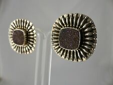 Embellished Sterling Clip/Post Earrings Sale-Amy Kahn Russell Druzy