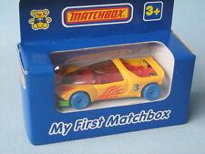 My First Matchbox Peugeot Quasar Blue Hubs China Base Boxed Toy Model Car