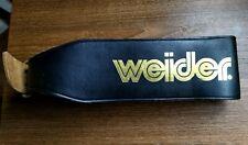 Weider leather weight lifting belt