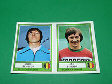 PANINI EURO FOOTBALL 78 N°16 BEHEYDT SIMOEN BELGIQUE BELGIË EUROPE 1977-1978
