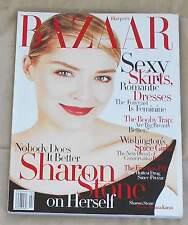 US HARPER'S BAZAAR/ February 1998/ Sharon Stone/ Maggie Rizer/ Blonde On Blonde