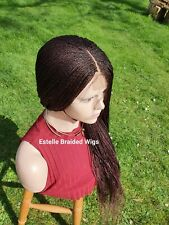 Braided Wig, Lace Front Wig With Baby Hair, Micro Twists Wig, Braids Wig #33