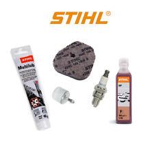 Genuine Stihl HS 56 46 HEDGETRIMMER Kit di servizio Filtro Aria Candela Olio Combustibile